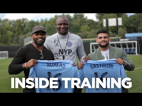 UFC visits, Patrick Vieira gives life advice | INSIDE TRAINING 24