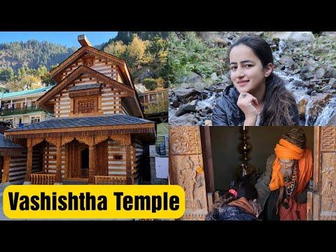 Vashishtha Temple Manali || Hot Water Spring || Foreigner Priest in the Temple || Jyotika Dilaik