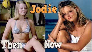 Jodie Foster ♕ From 07 To 55 Years Old