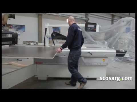 NEW SCM SI400ep Class Panel Saw - Scott+Sargeant Woodworking Machinery UK