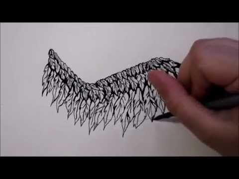 Tutorial Come Disegnare Delle Ali D Angelo By The Art Of Maria