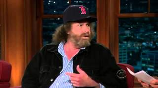 Late Late Show with Craig Ferguson 3/2/2010 Steven Wright, Mitch Albom