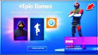 "VOICI HOW TO GET THE IKONIC SKIN -FREE"" on FORTNITE !!! (SEASON9)"