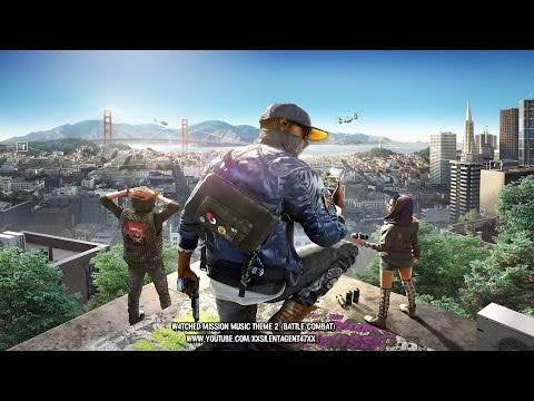 Watch Dogs 2 - W4tched/Looking Glass Mission Music Theme 2 (Battle/Combat)