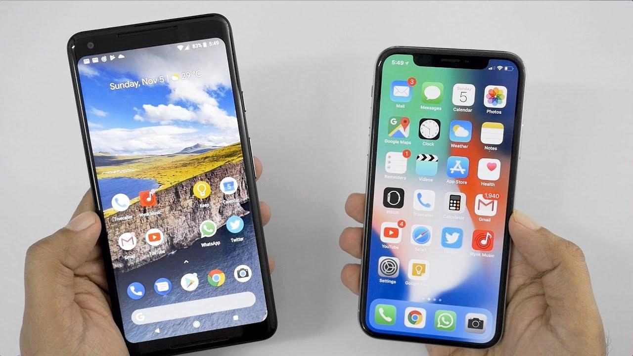 Iphone x camera vs google pixel 2 xl