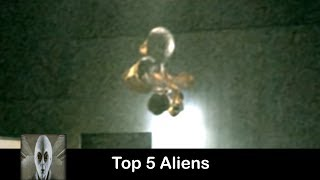 Top 5 Aliens Caught On Tape July 2017