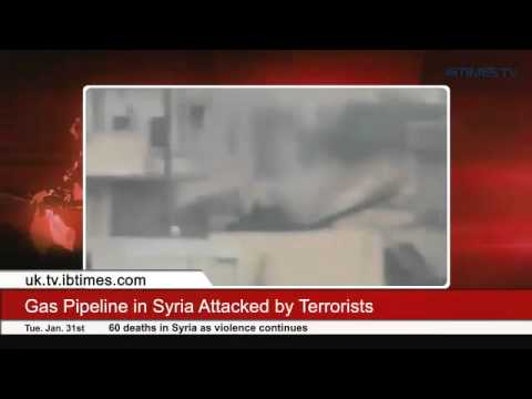 Gas Pipeline in Syria Attacked by Terrorists