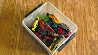 Lots of Tiny Cars from the Box