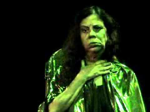 Mnemosis - Teatro poético - Monólogo com Maria Gladys.