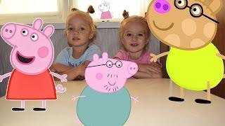 Мир Пеппы игрушечные мини-домики Peppa Pig World  mini-houses toys