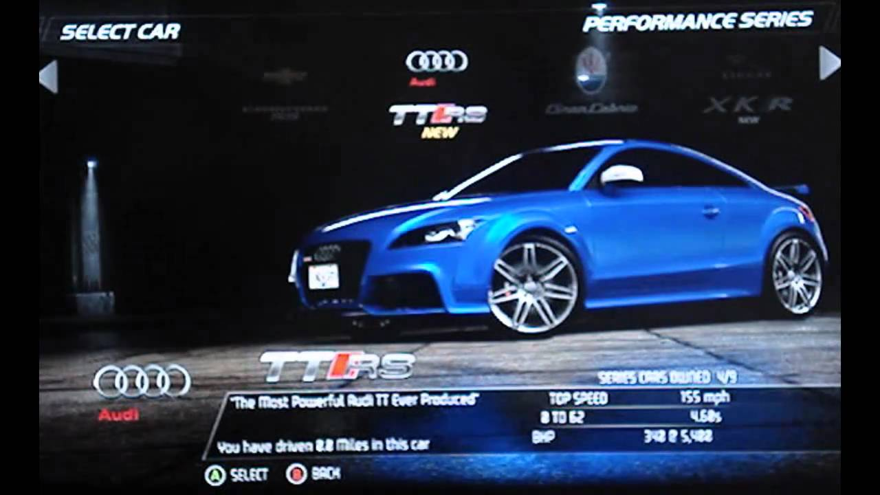 Need For Speed Hot Pursuit  Car Customization