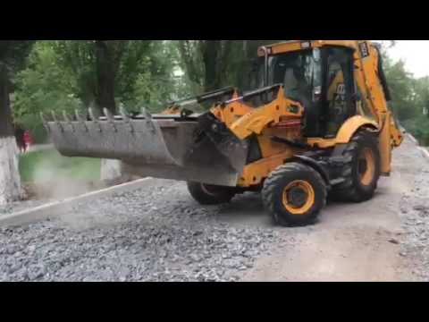 Планировка щебня трактором видео фото 96-720