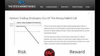 Options Trading Strategies: Out Of The Money Naked Call