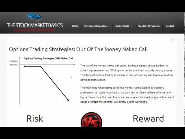 Option trading illustration foto 4
