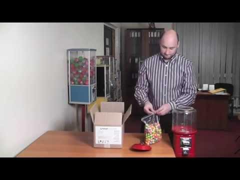 ВЕНДИНГ ПОПКОРН АВТОМАТ НОВЫЙ - YouTube