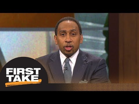 Stephen A. Smith goes off on Kawhi Leonard: You want to be in L.A., be in L.A. | First Take | ESPN