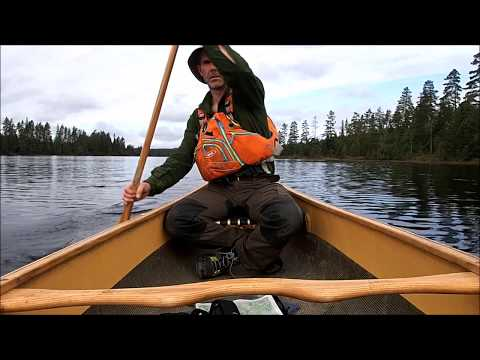 Bushcraft and canoe trip to Sweden