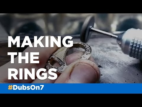 The Making Of: Warriors NBA Championship rings