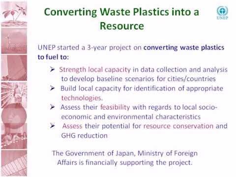 Converting Waste Plastics into Fuel