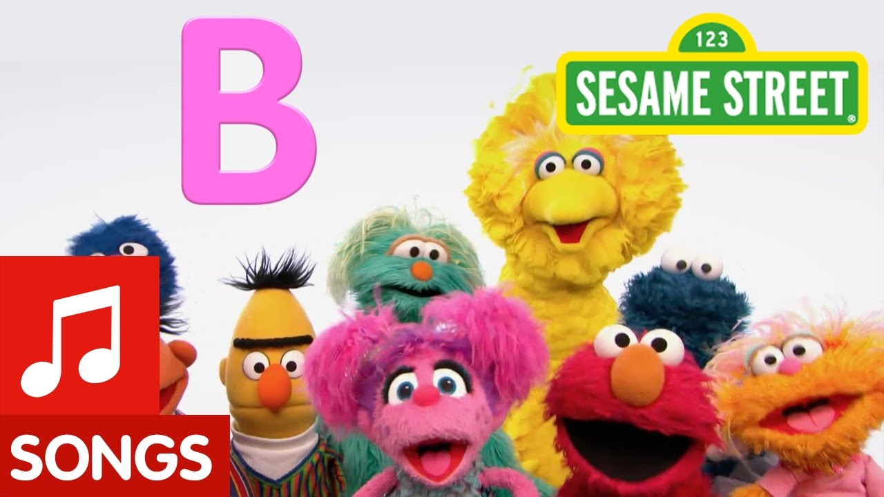 sesame street letter b sesame letter b new letter of the day song 24811