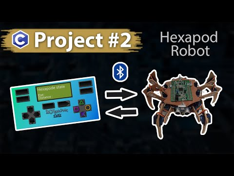 STM32 Hexapod Robot controlled by Android