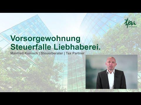 Steuerfalle: Liebhaberei bei Vorsorgewohnungen - Manfred Kunisch. Erste Wohnmesse.digital 2020