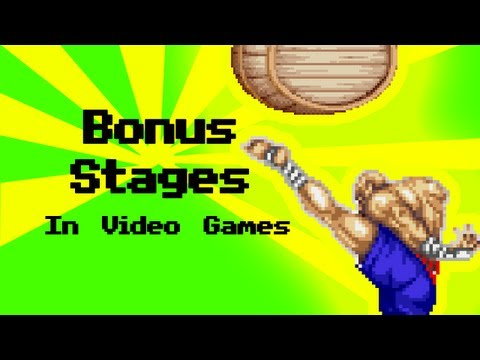 Bonus Stages in Video Games