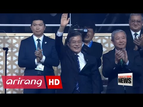 South Korean President invites North Korean athletes to 2018 Winter Olympics in PyeongChang