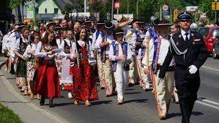 3 maja - Defilada górali w Krościenku nad Dunajcem 2018