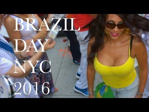 Brazil Day Midtown Manhattan New York City