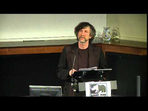 Neil Gaiman at the Douglas Adams Memorial Lecture 2015