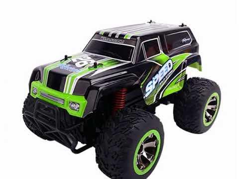 SZJJX RC Cars Rock Off Road Waterproof Vehicle Crawler Truck  2WD High Speed    Radio Remote Control