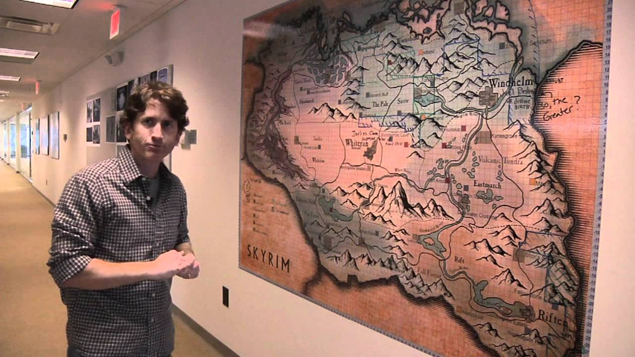 Download Tour Skyrim's Bethesda Game Studios With Todd Howard