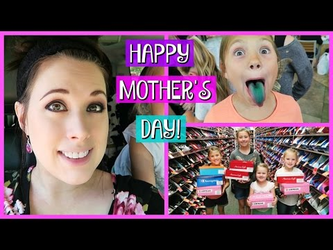 HAPPY MOTHERS DAY! | OPENING PRESENTS AND FUN MALL SHOPPING TRIP!