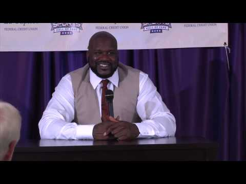 Full video: Shaquille O'Neal at the Louisiana Sports Hall of Fame