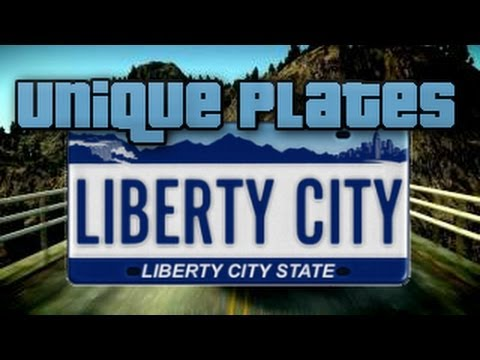 Gta 5 Custom License Plates Mod Liberty City Police