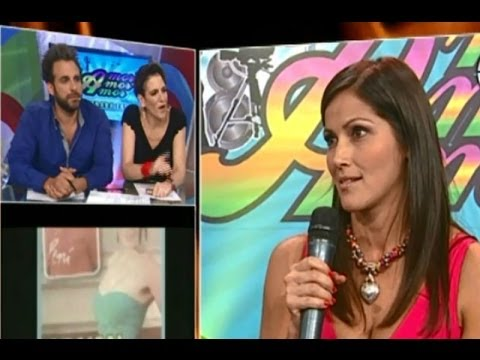 Pierina Carcelén intentó aclarar ampay en Amor Amor Amor
