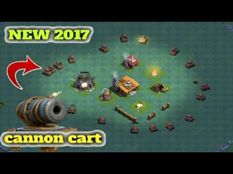 |ClashOf Clans Testing New Cannon Troop|