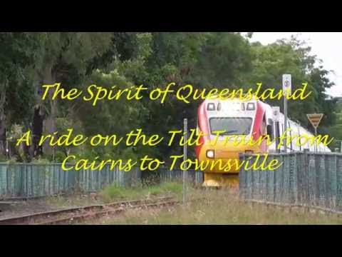 A Ride on the Spirit of Queensland from Cairns to Townsville