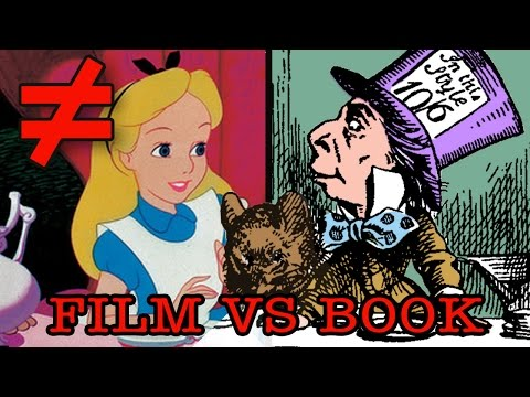 Alice In Wonderland - What's the Difference?