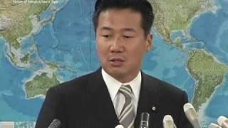 福山外務副大臣会見(平成21年10月5日)