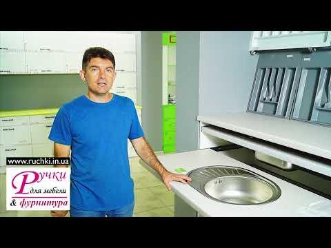 Кухонная мойка для из нержавейки КРУГЛАЯ 57 на 45 см.