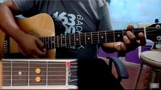 Porque para siempre Dios tutorial con guitarra acordes estrofas ritmo