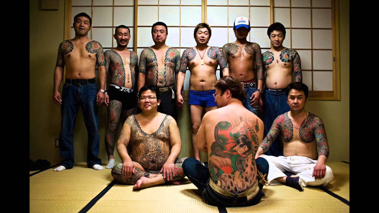 Yakuza Gang Tattoos  YouTube