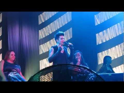 2013-03-22 Adam Lambert - Broken English (dedicated to Sauli) - Helsinki [1080HD]