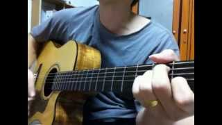 Trai tim ben le - guitar