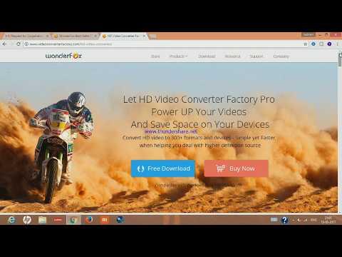 HD Video Converter Factory Pro | WonderFox Soft | Full Software Review