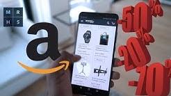 3 Tipps für die Amazon Cyber Monday Woche - So kauft ihr günstig ein