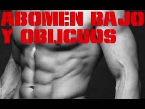 Ejercicios para abdominales inferiores y oblicuos