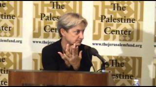 The 2014 Edward Said Memorial Lecture with Dr. Judith Butler
